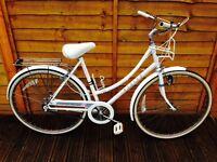 Serviced Ladies Vintage Raleigh Caprice Town Bike