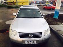 2003 Volkswagen Passat LUXURY  Automatic with rego&rwc Melbourne CBD Melbourne City Preview