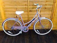 Serviced Ladies Vintage Raleigh Chiltern Town Bike