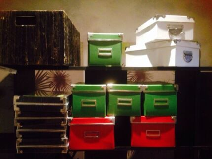 Storage boxes - various colours & sizes  Casula Liverpool Area Preview