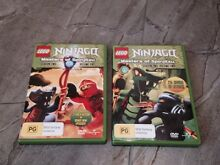 Lego Ninjago DVD's - set of Season 2, Volumes 1 & 2 Mile End West Torrens Area Preview