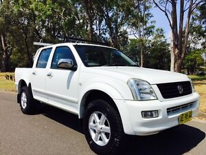 2004 Holden Rodeo LT Dual Cab Utility Automatic White Moorebank Liverpool Area Preview