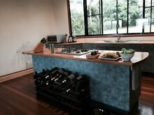 Solid Timber Top Kitchen for sale including sink and appliances Lennox Head Ballina Area Preview