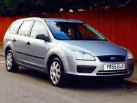 FORD FOCUS 1,6 LX AUTO 2005 LOW MILEAGE FSH MOT 3 MONTHS WARRANTY CALL NOW