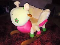 Mamas and Papas Butterfly rocker, good condition.