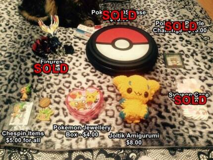 Pokemon Items, Cards & Kawaii Items Sydney City Inner Sydney Preview
