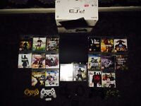 PS3 with numerous games