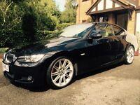 BMW 325d Black, Fully loaded, top spec