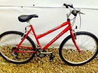 Serviced - Ladies Raleigh Mountain Bike