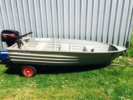 10Ft Dinghy with 6hp Mercury Motor Mount Barker Plantagenet Area Preview
