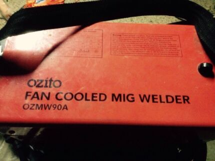 Ozito fan cooled mig welder Charnwood Belconnen Area Preview