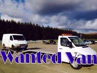 Toyota Hiace Mercedes sprinter Vito van wanted!!!