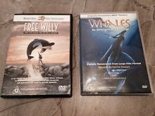 Free Willy DVD & IMAX documentary 'whales' Mile End West Torrens Area Preview