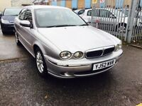 AUTOMATIC / JAGUAR X-TYPE 2.5 / LEATHER / 12 MONTHS MOT