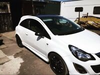 Vauxhall corsa limited edition 1.2 eco boost