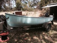 Purdon dingy 12ft + two outboards Sandford Clarence Area Preview
