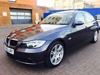 BMW 320d AUTO+HPI CLEAR + Sunroof+ Beige Leather+ FULL SERVICE HISTROY PX Welcome
