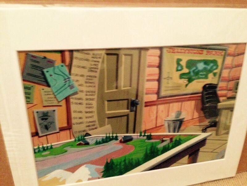 Hanna Barbera Yogi Bear Production Background