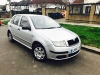 SKODA FABIA AUTOMATIC 2005 1.4 ENGINE LOW MILAGE (NOT CORSA FOCUS OR POLO GOLF)