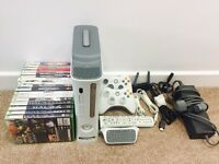Xbox 360 pro with loads of extras and games
