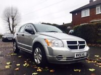 2006 Silver Dodge Caliber, 2.0L, Diesel, Manual, MOT, Service, 2 Keys, 100K Miles
