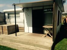 Onsite van at portarlington Dylene caravan park 22ft Portarlington Outer Geelong Preview