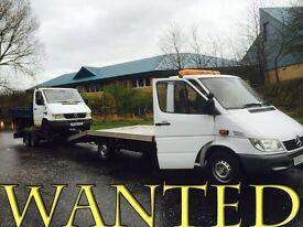 VOLKSWAGEN lt & Mercedes sprinter wanted!!!