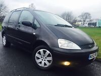 Ford Galaxy 1.9 TDi Zetec 5dr Black Service History 7 Seats Alloys Parking Sensors