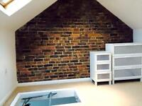 Furnished double loft conversion offered in gay household £450 all bills inc
