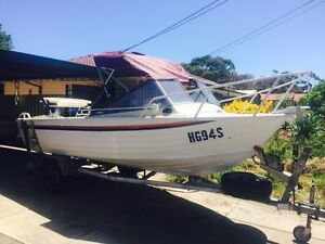 1990 Stacer Seamaster Runabout Walkley Heights Salisbury Area Preview