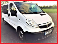 9 Seater 2010 Vauxhall Vivaro 2.0 Combi - LWB van -alternate4 transporter mercedes vito ford tourneo