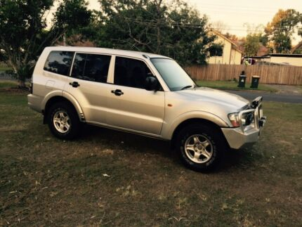 Cheap 2002 Mitsubishi Pajero GLX(turbo diesel) Moorooka Brisbane South West Preview