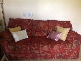 Two 3 seater sofas for sale