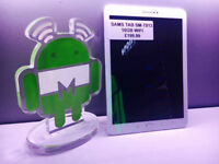 Samsung TAB SM-T813 16 GB WI-FI in white comes with charger and three months warranty