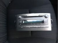 TOYOTA AURIS CD RADIO CAR STEREO PLAYER DECODED 2007