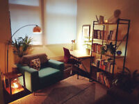 Psychotherapy / Counselling room to hire (blocks/days/evenings/weekends/ad hoc)