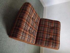 Retro 1960s single sofa bed