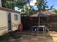Classic caravan Holiday Hemsby Norfolk