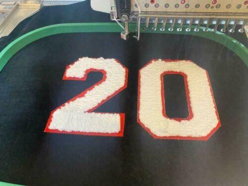 TOYOTA embroidery machine ESP9100 15 Needle w/270 cap Chenille CORDING Tajima