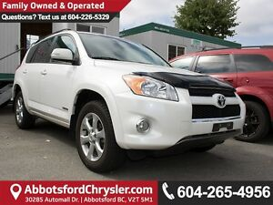 2011 Toyota RAV4 Limited LOCALLY OWNED!