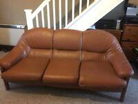Sofa genuine leather