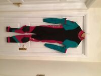 Ladies Gul Surf Lite 3/2 convertible wetsuit. Good condition, hardly used