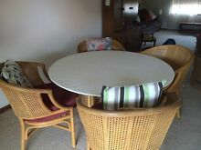 Glass dining table set Woy Woy Gosford Area Preview