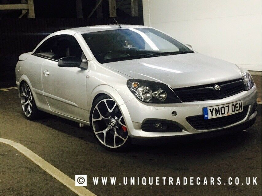 2007 Vauxhall Astra Twintop Cdti 19 Vxr Alloys Free Delivery