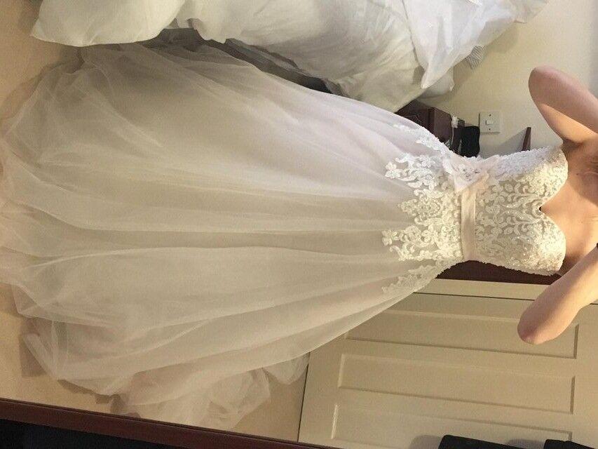 Vintage Wedding Dresses East Sussex: BNWT Kenneth Winston Wedding Dress