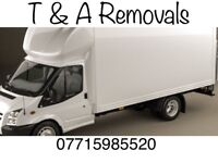 Man and van hire, delivery and removal services CHEAP PRICES short notice local
