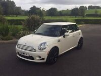 Mini Cooper hatchback - lots of extras from mini incl sports, media and chilli packs and alloys