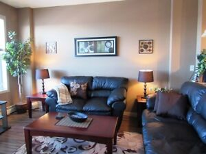 Bright, Spacious One Bedroom Fully Furnished Condo at Clareview!