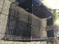 Folding Car Dog Cage