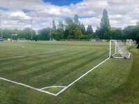 Casual football games at Hadley Stadium